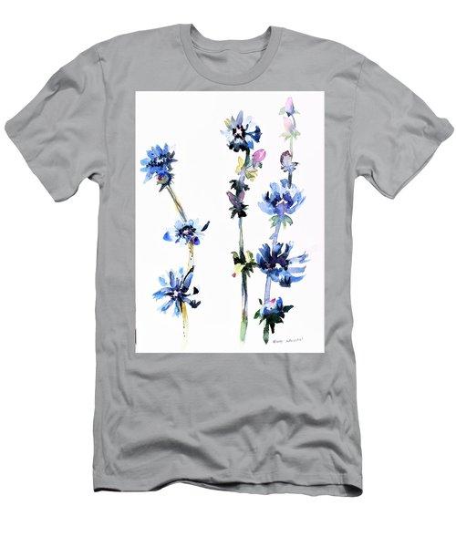 Chicory Men's T-Shirt (Athletic Fit)