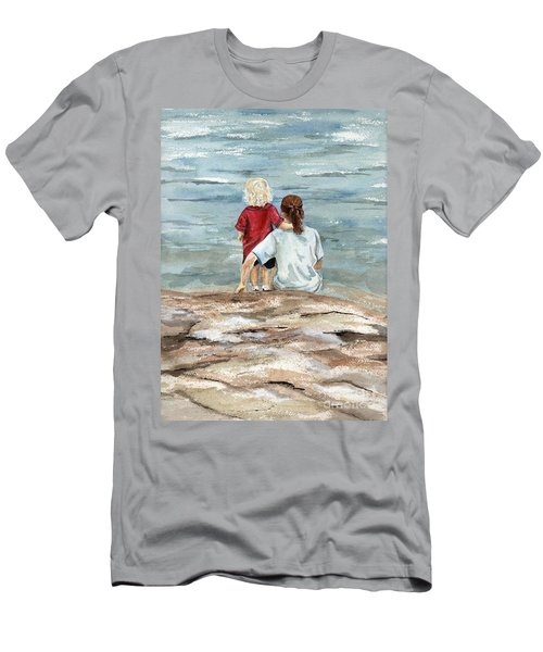 Children By The Sea  Men's T-Shirt (Athletic Fit)