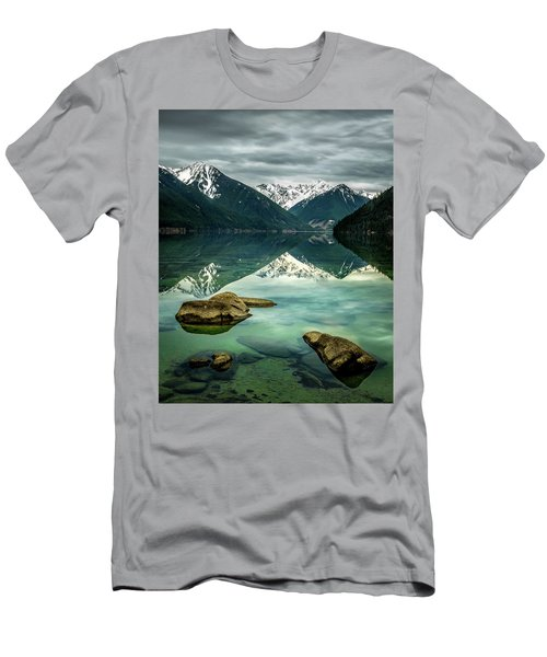 Chilliwack Lake Serenity Men's T-Shirt (Athletic Fit)
