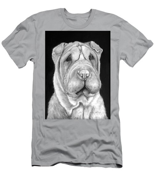 Chinese Sharpei Men's T-Shirt (Athletic Fit)