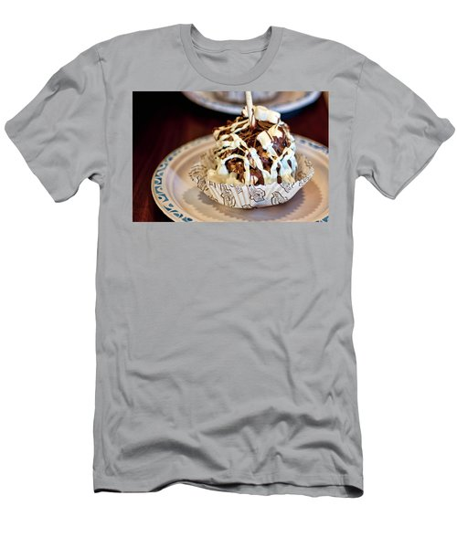 Chocolate Caramel Apple Men's T-Shirt (Athletic Fit)