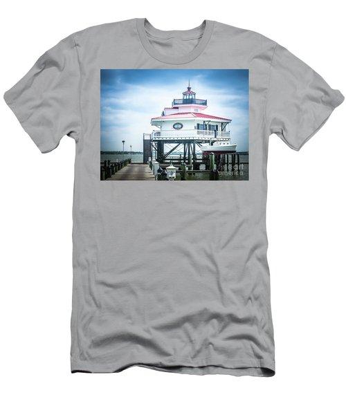 Choptank River Lighthouse Men's T-Shirt (Athletic Fit)