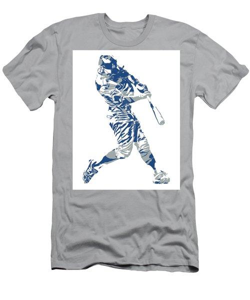 Chris Taylor Los Angeles Dodgers Home Run Men's T-Shirt (Athletic Fit)