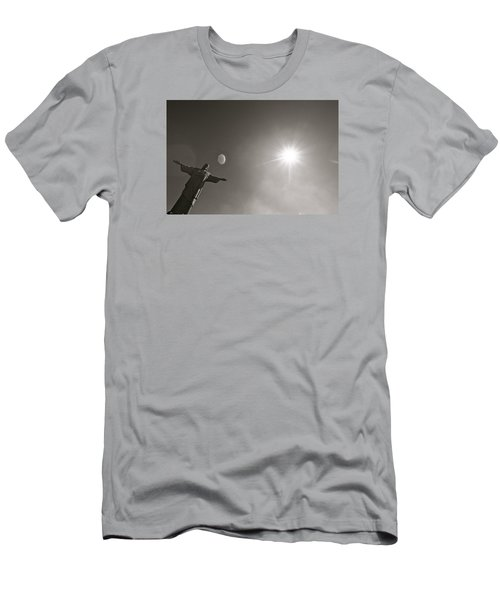 Christ The Redeemer Men's T-Shirt (Slim Fit)