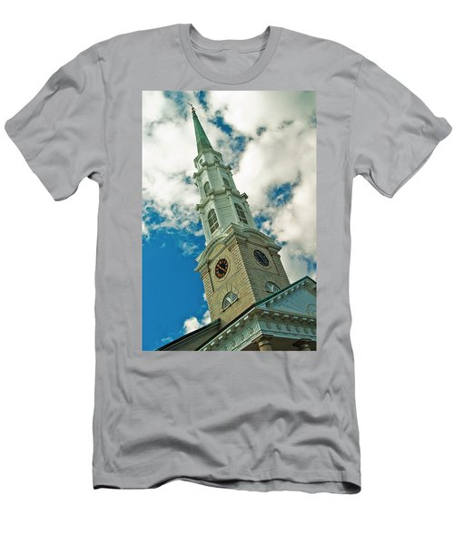 Churche Steeple Men's T-Shirt (Athletic Fit)