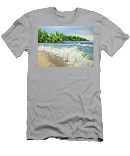 Churning Sand  Men's T-Shirt (Athletic Fit)