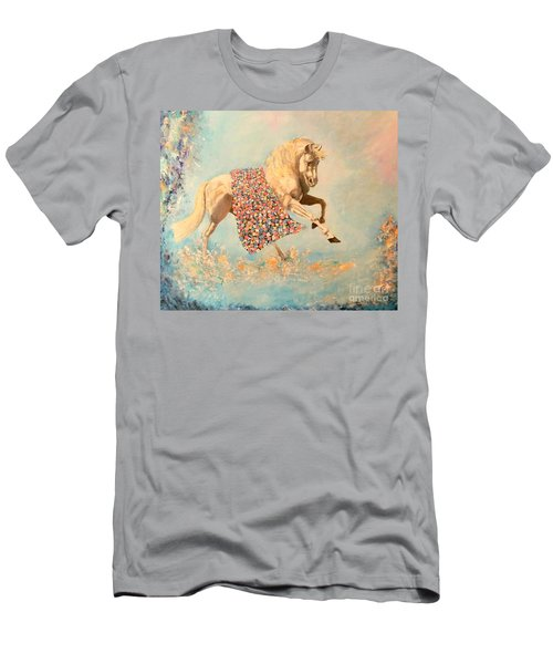 Cinderellas Unicorn Men's T-Shirt (Athletic Fit)