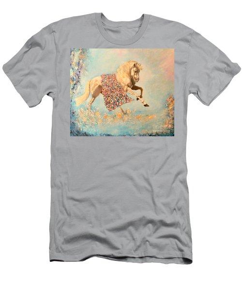 Cinderellas Unicorn Men's T-Shirt (Athletic Fit)