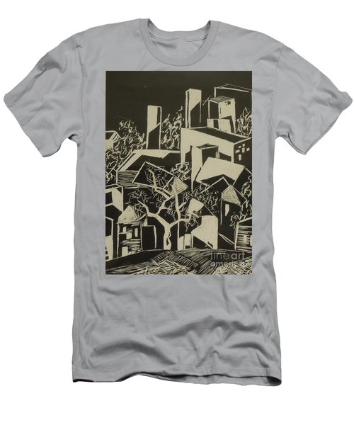 City By Moonlight - Sold Men's T-Shirt (Athletic Fit)