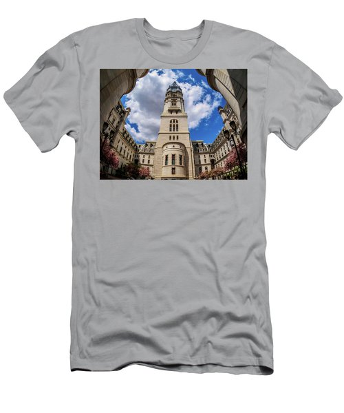 City-hall-philadelphia-photo Men's T-Shirt (Athletic Fit)