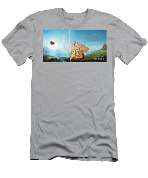 City On The Sea Men's T-Shirt (Athletic Fit)