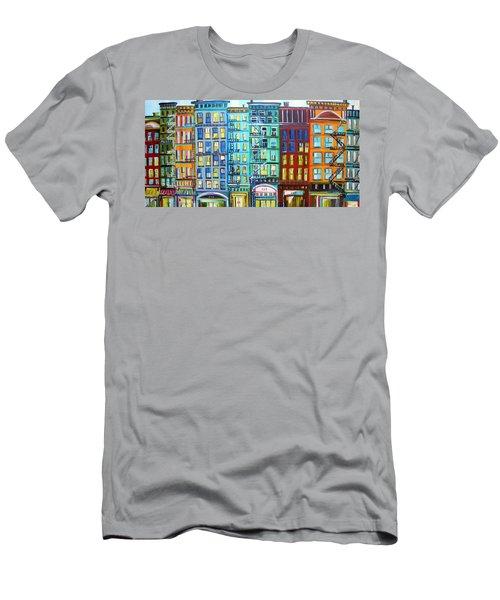 City Windows Men's T-Shirt (Athletic Fit)