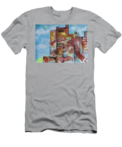 Cityscape 230 Men's T-Shirt (Slim Fit) by Karin Husty