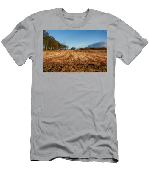 Men's T-Shirt (Athletic Fit) featuring the photograph Clackmannanshire Countryside by Jeremy Lavender Photography