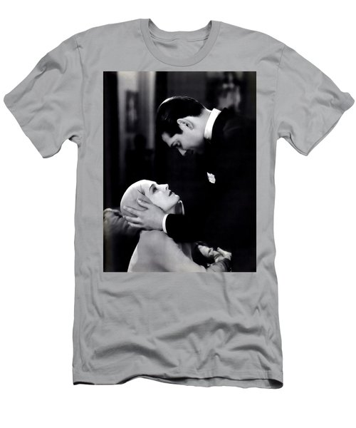 Men's T-Shirt (Athletic Fit) featuring the photograph Clark Gable In A Free Soul by R Muirhead Art
