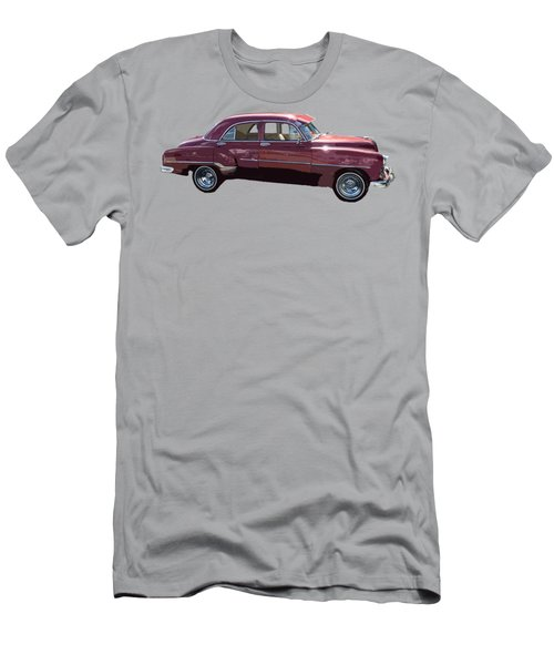 Classic Car Art In Red Men's T-Shirt (Athletic Fit)