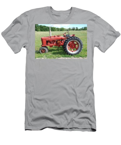 Classic Tractor Men's T-Shirt (Slim Fit) by Richard Bryce and Family
