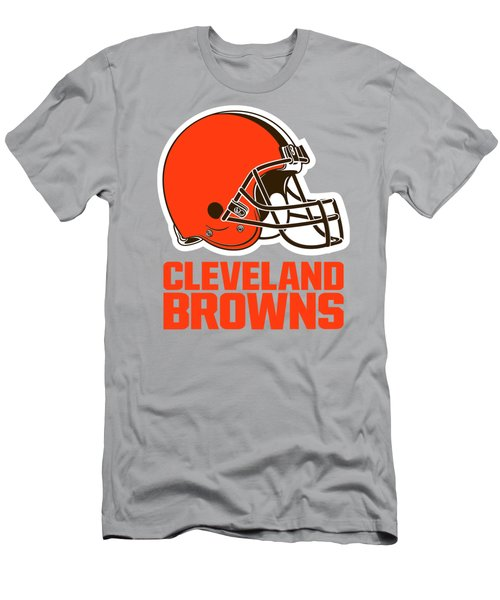 Cleveland Browns Translucent Steel Men's T-Shirt (Athletic Fit)