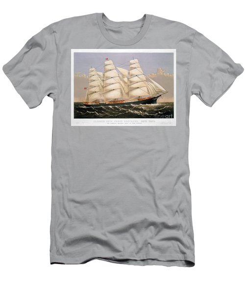Clipper Ship, 1875 Men's T-Shirt (Athletic Fit)