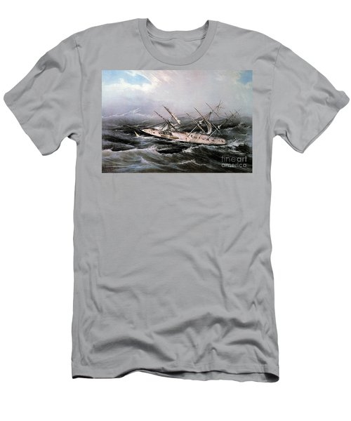 Clipper Ship Comet, 1855 Men's T-Shirt (Athletic Fit)