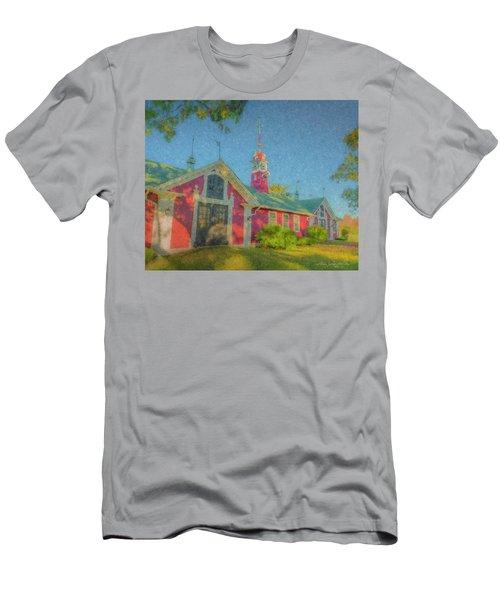 David Ames Clock Farm Men's T-Shirt (Athletic Fit)