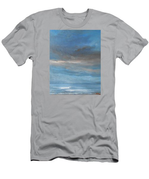 Men's T-Shirt (Slim Fit) featuring the painting Close Of Day by Jane See