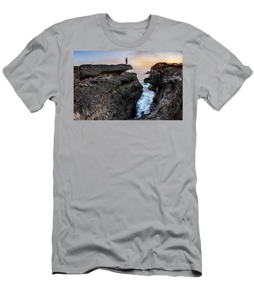 Men's T-Shirt (Athletic Fit) featuring the photograph Close To Nature by Pradeep Raja Prints