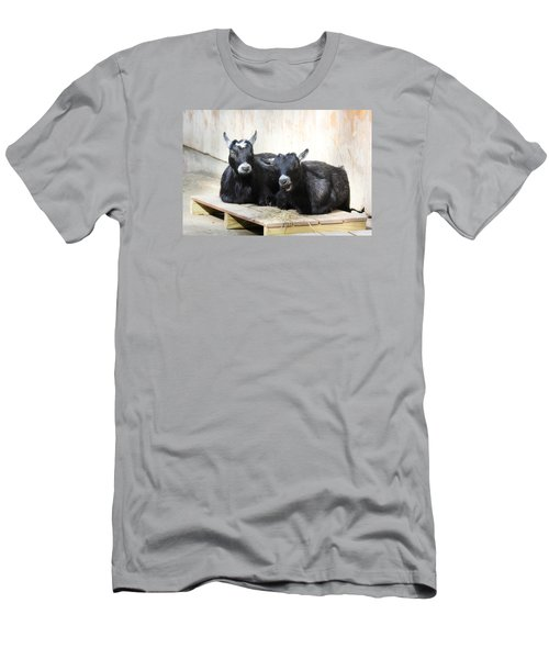 Men's T-Shirt (Slim Fit) featuring the photograph Close To You by Trina  Ansel