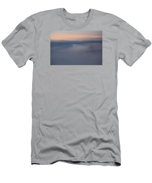 Cloud Abstract  Men's T-Shirt (Slim Fit) by Suzanne Gaff