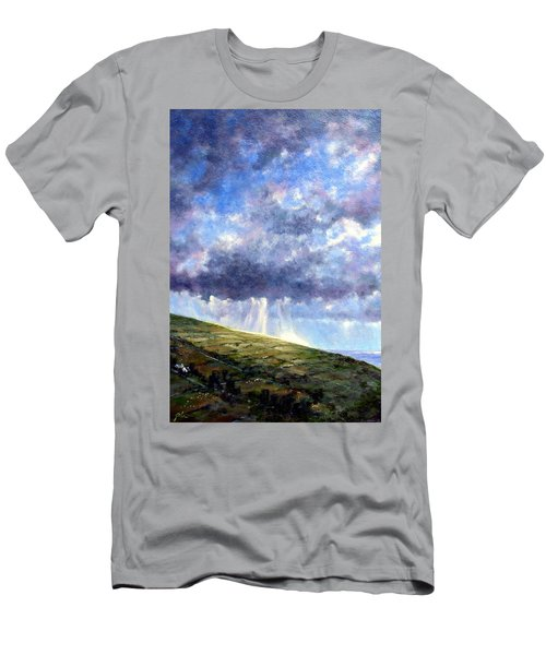 Cloud Burst Ireland Men's T-Shirt (Athletic Fit)