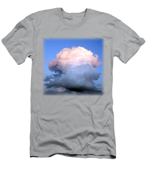 Cloud Explosion T-shirt Men's T-Shirt (Slim Fit) by Isam Awad