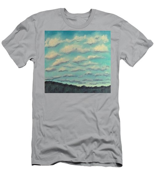 Cloud Study Cropped Image Men's T-Shirt (Athletic Fit)