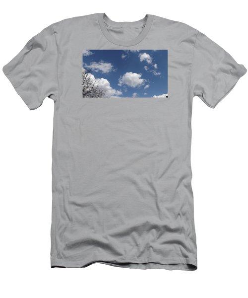 Cloudbank 3 Men's T-Shirt (Slim Fit) by Don Koester