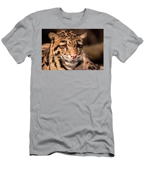 Clouded Leopard II Men's T-Shirt (Athletic Fit)