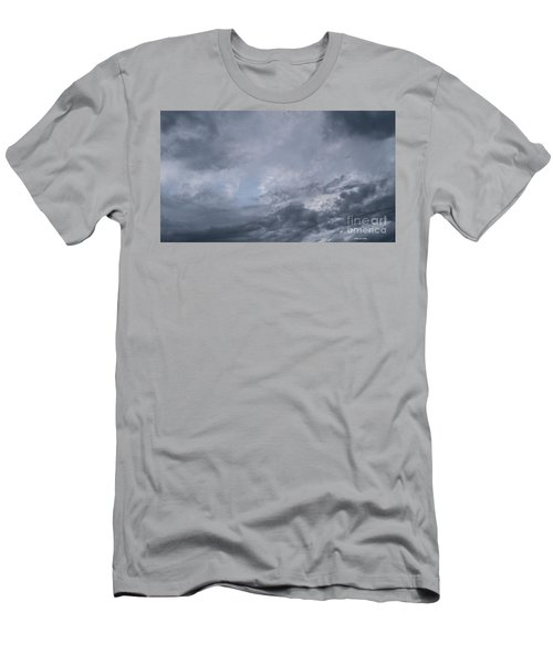 Men's T-Shirt (Athletic Fit) featuring the photograph Clouds by Megan Dirsa-DuBois
