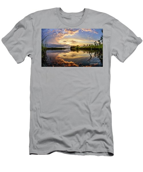 Clouds Reflections Men's T-Shirt (Athletic Fit)
