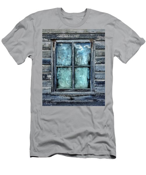 Cloudy Window Men's T-Shirt (Athletic Fit)