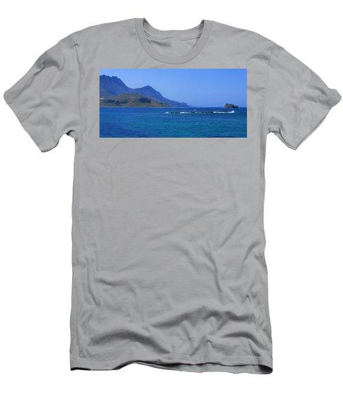 Coast Of Gramvousa Men's T-Shirt (Athletic Fit)