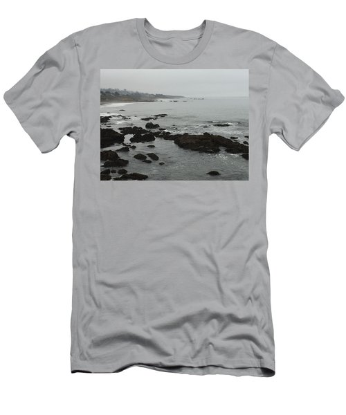 Coastal Fog Men's T-Shirt (Athletic Fit)