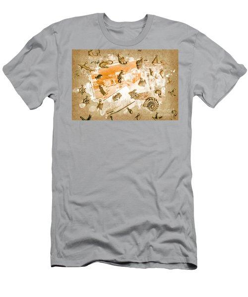 Coastal Romantics Men's T-Shirt (Athletic Fit)