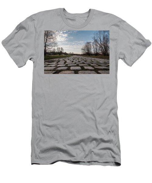 Cobble-stones Men's T-Shirt (Athletic Fit)