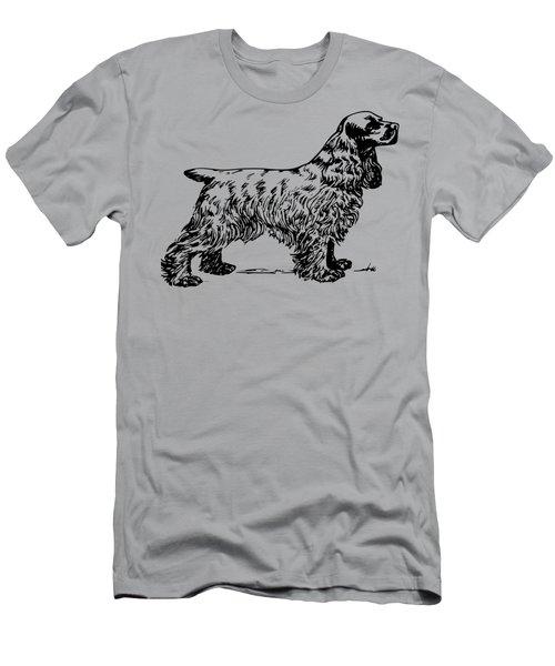 Cocker Spaniel Men's T-Shirt (Athletic Fit)