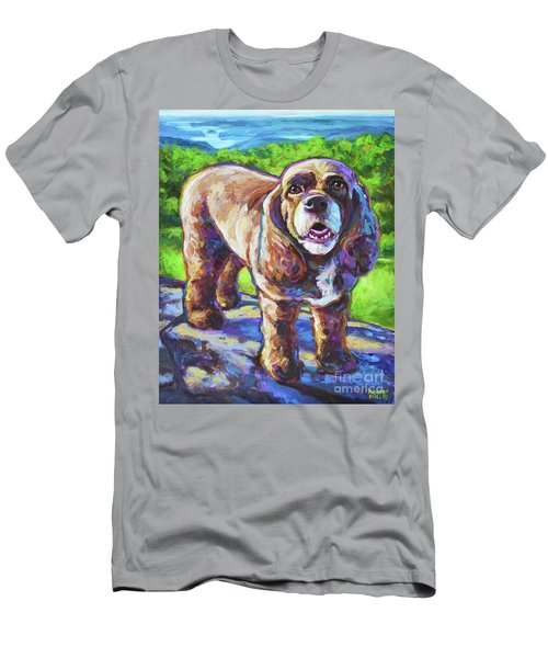 Cocker Spaniel  Men's T-Shirt (Slim Fit) by Robert Phelps