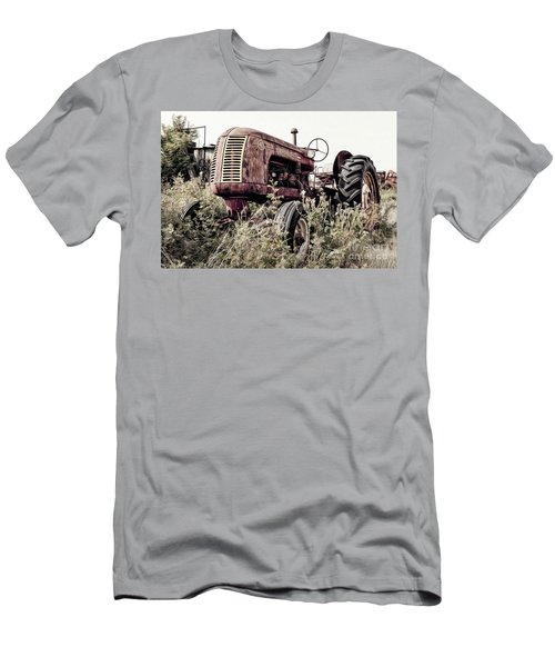 Men's T-Shirt (Athletic Fit) featuring the photograph Cockshutt 40 by Brad Allen Fine Art
