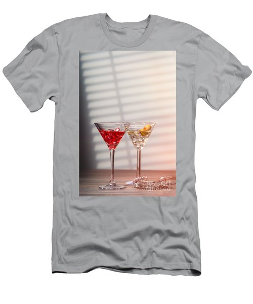 Cocktails With Strainer Men's T-Shirt (Athletic Fit)