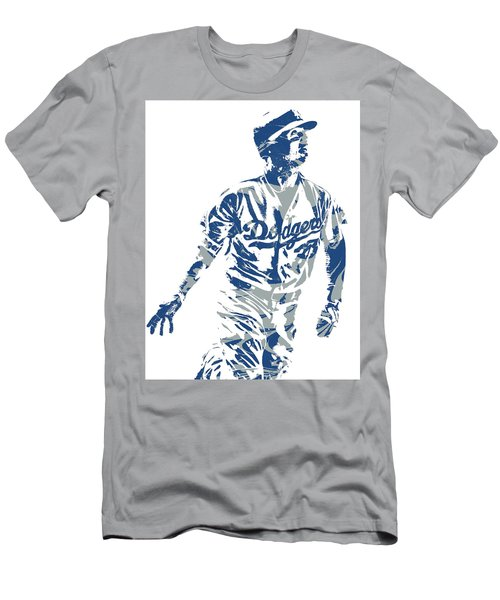 Cody Bellinger Los Angeles Dodgers Pixel Art 20 Men's T-Shirt (Athletic Fit)