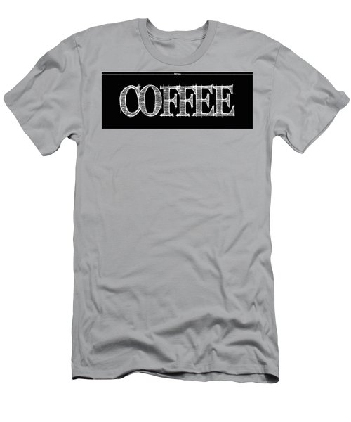 Coffee Fill Line Mug Men's T-Shirt (Athletic Fit)