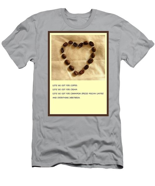 Coffee Shop Hopping Men's T-Shirt (Athletic Fit)