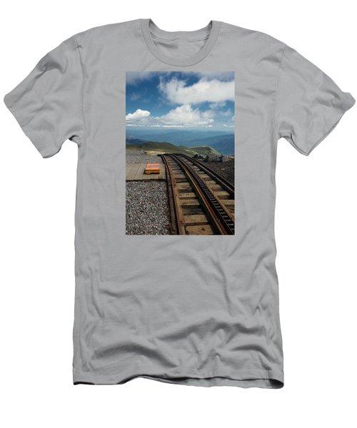 Cog Railway Stop Men's T-Shirt (Athletic Fit)