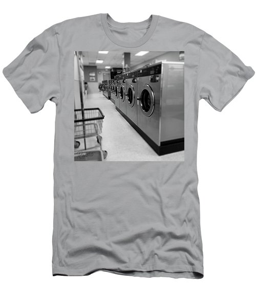Coin Wash Men's T-Shirt (Athletic Fit)